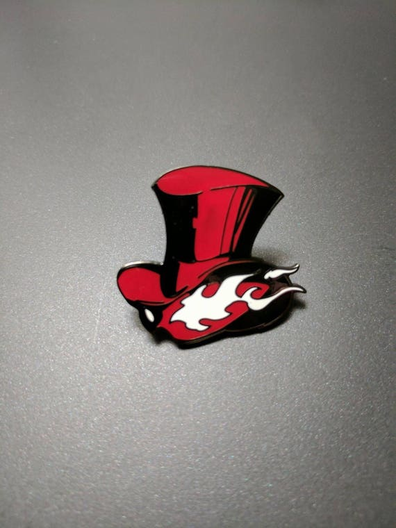 Persona 5 Phantom Thieves Of Hearts Enamel Pin