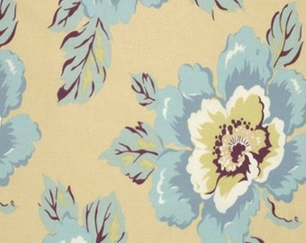 Cotton Quilting Fabric | Amy Butler fabric | Gypsy Caravan Wild Poppy Milk