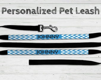 Personalized Pet Leash, Pet Leash, Personalized Leash, Pet Lover Gift, New Puppy Gift
