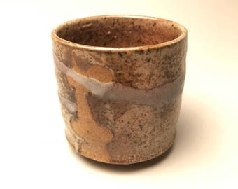 Tea Bowl-Yunomi-Mingei Style-Soda fire-Ceramic Art-cup