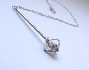 Pendulum Necklace - Sterling silver