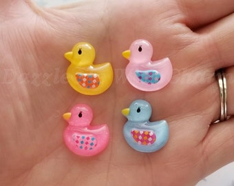 20mm baby duck cabochon flatback mixed colors jewelry embellishment scrapbooking hair accessories decoden phone case embellishment *5pcs*
