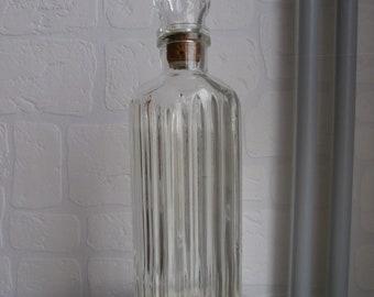 Vintage cut glass decanter JolieBouteille