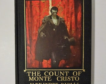 c. 1930's The Count of Monte Cristo by Alexandre Dumas, MEAD SCHAEFFER Color Plates