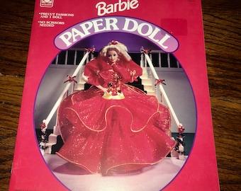 Vintage Intact 1993 BARBIE Paper Doll Book