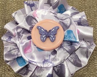 Girls butterfly kippah