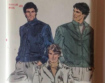 Vogue 7923 UNCUT Mens Jacket Size 40 Vintage 1980's