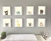 Modern Baby Nursery Art, ...