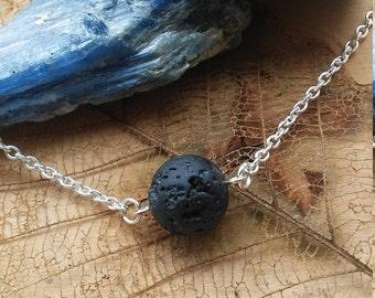 Natural Lava Stone Essential Oil Diffuser Necklace