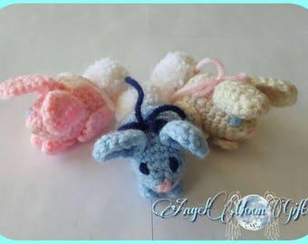 Amigurumi Easter Bunny, Baby Bunny, Bunny, Amigurumi Bunnies, Easter Basket Stuffers, Amigurumi Bunny, Easter Bunnies, Amigurumi Miniatures.
