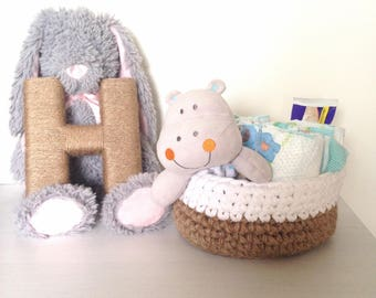 Crochet Bowls. Crochet Baskets. Storage Basket. Nursery Decor Baskets. Candy Dish. Rope Basket. Mantle Decor.