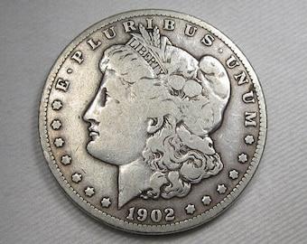 1902 S Morgan Dollar CH VG Details Coin