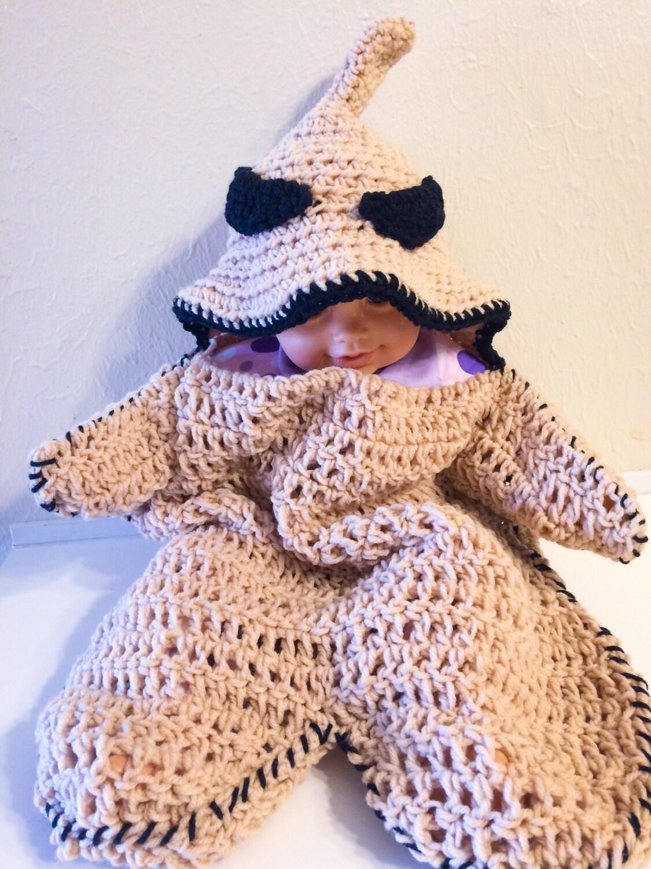 Häkeln Sie Oogie Boogie Baby Kokon