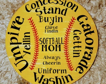 Softball or Baseball sign