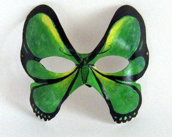 Goliath Birdwing Butterfly Mask