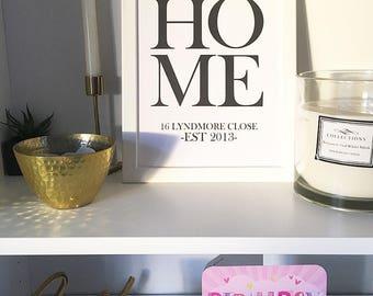 A4 home print