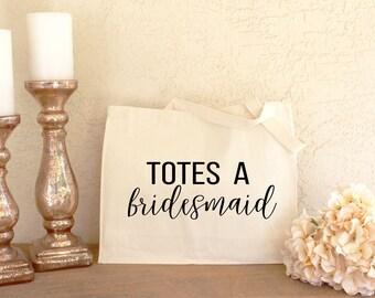 Bridesmaid Tote - Bridesmaid Proposal Gift - Bridesmaid Proposal Bag - Bridesmaid Gift - Maid of Honor Gift - Wedding Party Gift