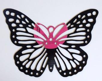 Butterfly - Vinyl Record Art