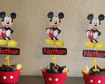 Mickey Mouse INSPIRED centerpices