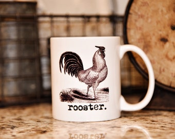 ROOSTER FARM ANIMAL Mug - The Farmhouse Collection