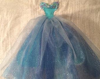Disney Princess Cinderella Dress Applique Pattern - Inspired by Disney's Live Action Cinderella (2015)