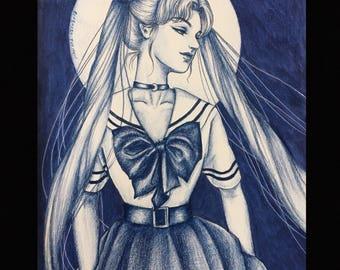 Prints: Sailor Moon
