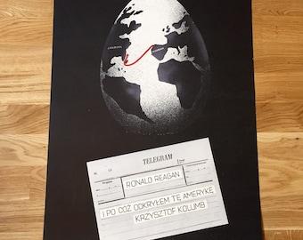 Vintage Cold War / Ronald Reagan Poster