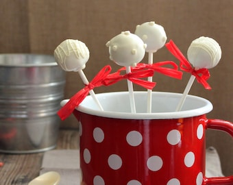 Natural & Organic Cake Truffles / Cake pops (12 count)