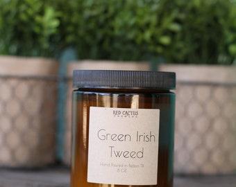 Green Irish Tweed Scented Candle 8 oz