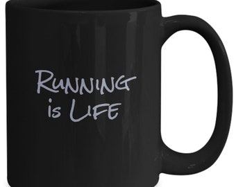 Running is life - coffee mug