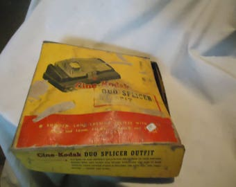 Vintage Kodak Duo Splicer Outfit In Box, collectable