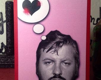 John Wayne Gacy Killer Clown valentine