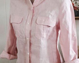 Vintage Vince  Linen Shirt ... Free Shipping