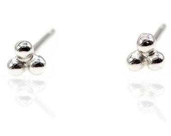 Small silver earrings925 stud earring