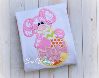 Girl Bunny shirt, Easter bunny shirt- Easter shirt