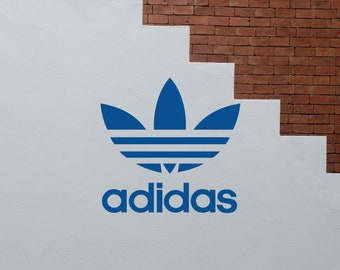 Adidas Originals Vinyl Decal Sticker For Decoration Logo Sports