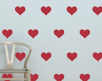 """Heart Decals 