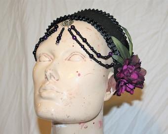 Purple Belly Dancer Head Piece