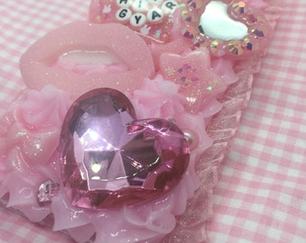 Ready to Ship Hime Gyaru Princess Pink Iphone X Decoden Case