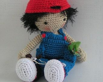 Doll Benny crochet pattern