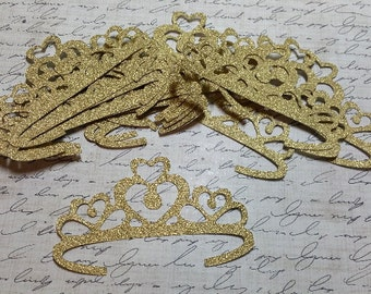 Die cut Tiaras/Princess Crowns,        #D-1