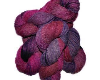 Hand dyed yarn - Columbia Wool yarn, Worsted weight, 170 yards - Astrild