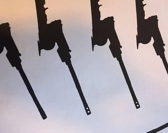 M198 Howitzer Silhouette