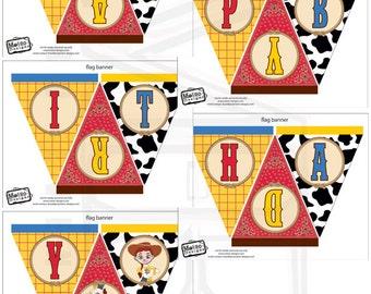 Jessie, Toy Story Birthday Banner