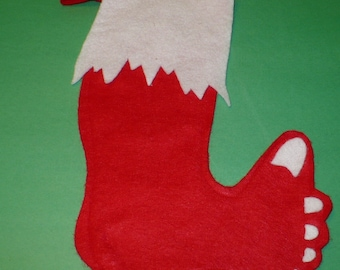 Barefoot Christmas Stocking