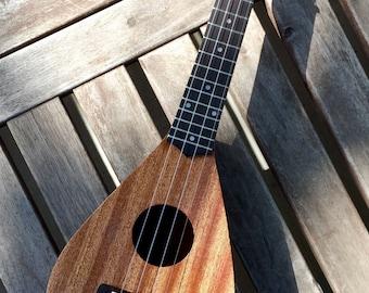 Teardrop ukulele - TD 200SMBR