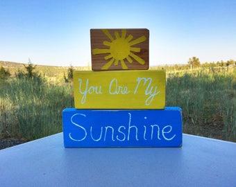 You are My Sunshine dresser sign