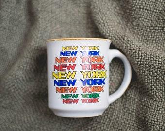 Rainbow New York Mug