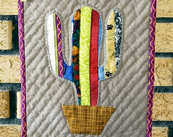 """Small Cactus Quilt- """"Rodeo Clown"""""""