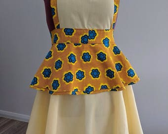 Vintage yellow Apron
